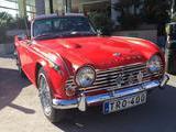 1965 Triumph TR4A Signal Red John Borg