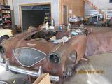 1954 Austin Healey 100 Red Primer Barry Hathorne