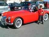 1958 MG MGA Chariot Red Francis Camilleri