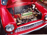1961 Mini MkI Tartan Red Andrew Hurst