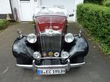 1952 MG TD Burgundy Black Declan Burns