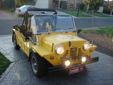 1971 Mini Moke Yellow Brett Nicholson