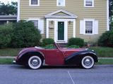 1949 Triumph 2000 Roadster Red black Kevin Kelly