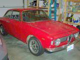 1967 Alfa Romeo GTV Red Jim G