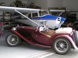 1948 MG TC Burgundy Stan Teitge