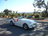 1959 Triumph TR3A White Graham Harris