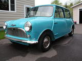 1962 Mini Cooper Blue Shawn Mesheau
