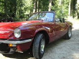 1980 Triumph Spitfire 1500 Red Rolf F