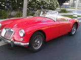 1961 MG MGA 1600 RED Kaz Bielinski