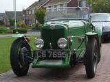 1938 MG TA Green Nick Thompson