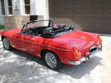 1974 MG MGB Red Glen Winter