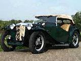 1939 MG TA Brooklands Green Alexander R
