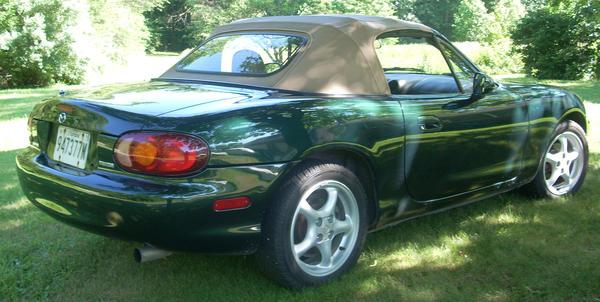 1999 Mazda Miata NB (JM1NB3536X0123929) : Registry : The Morris