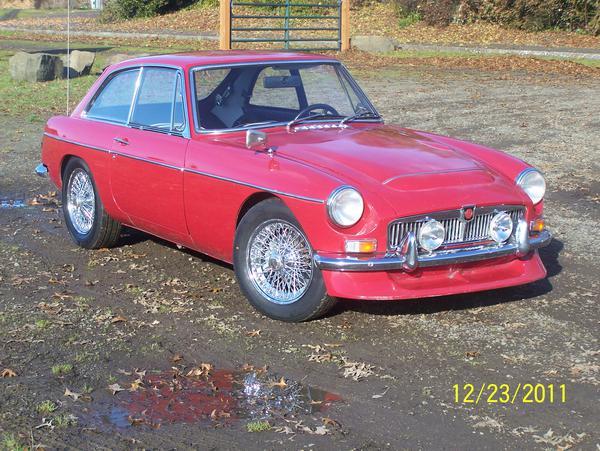 1968 MG MGB GT (GHD4U154207G) : Registry : The Autoshrine