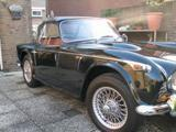 1967 Triumph TR4A Black Louis van de Ven