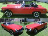 1977 MG Midget MkIII Red ENRIQUE AUGDEY