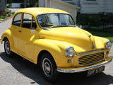 1958 Morris Minor Yellow Barry Lucas