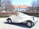 1952 MG TD Old English White Hans Nilsson