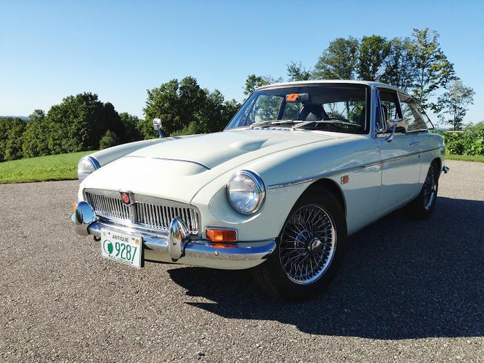 1969 MG MGC GT (GCD1U6762G) : Registry : The Morris Minor Forum