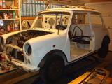 1992 Rover Mini White petrus postma