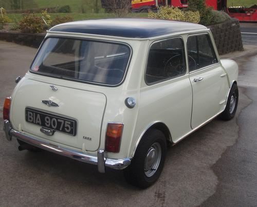 1968 Austin Mini Cooper S 1275 Mk 2 Cazsb1151266 Registry