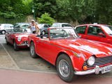 1967 Triumph TR250 Red Henning Ringsvold
