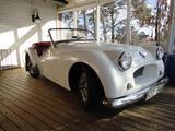 1954 Triumph TR2 Pearl White Goran Schack