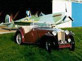 1947 MG TC Burgundy Ross MacPherson