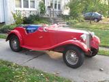 1953 MG TD MkII