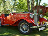 1951 MG TD Red Ulf Claesson