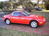 1989 Mazda MX 5 Orange With Evo Gold Hardtop Wayne Watkins