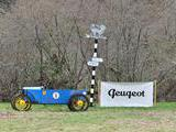 1922 CycleKart French Blue Anonymous Anon