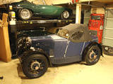 1931 MG Midget Blue Tom P