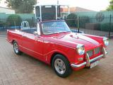 1961 Triumph Herald 1200 Red Robert Mac