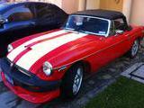 1970 MG MGB White red Rafael Funes