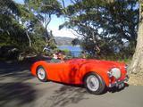 1955 Austin Healey 100 Red Geoff Golding