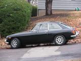 1971 MG MGB GT Black Trafford B