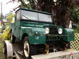 1954 Land Rover Series I Green David Anderson