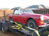 1974 MG Midget MkIII Red Gary Brown