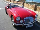 1957 MG MGA Red Geoff Coombe