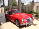 1958 MG MGA 1500 Coupe Red Mahendran Subramaniam