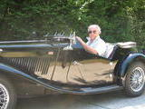 1952 MG TD Black Camille Schyns