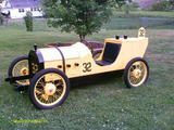 1911 CycleKart Race Car Yellow Michael Easter