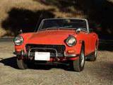 1972 MG Midget MkIII Blaze Red Mark Linn
