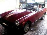 1978 MG Midget Candy Apple Paris Gonzalez