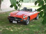 1979 MG MGB Vermillion Red Original Jennifer H