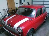 1959 Mini MkI Red Steve Brannan
