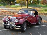 1954 MG TF Body Red wings Met Dark Red Howard Battan