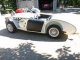 1953 Austin Healey 100 Old English White Ben B