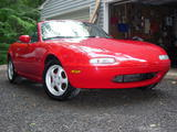 1990 Mazda MX 5 NA Red Kevin M